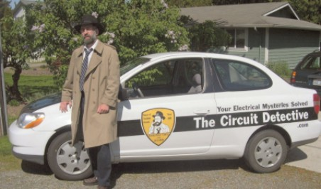 Circuit Detective's work car